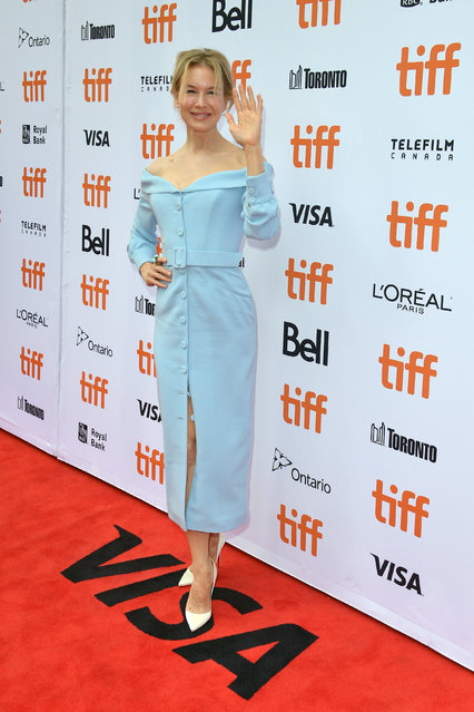 "Renee Zellweger attends the ""Judy"" premiere during the 2019 Toronto International Film Festival at Princess of Wales Theatre on September 10, 2019 in Toronto, Canada. (Photo by George Pimentel/Getty Images)"