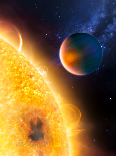 Dramatic changes spotted in HD 189733b exoplanet atmosphere