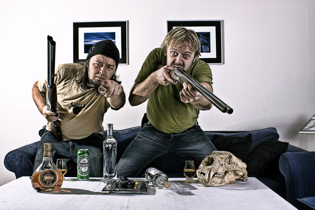 Hillbillie photoshoot gone bad... (Photo by Geir Akselsen)