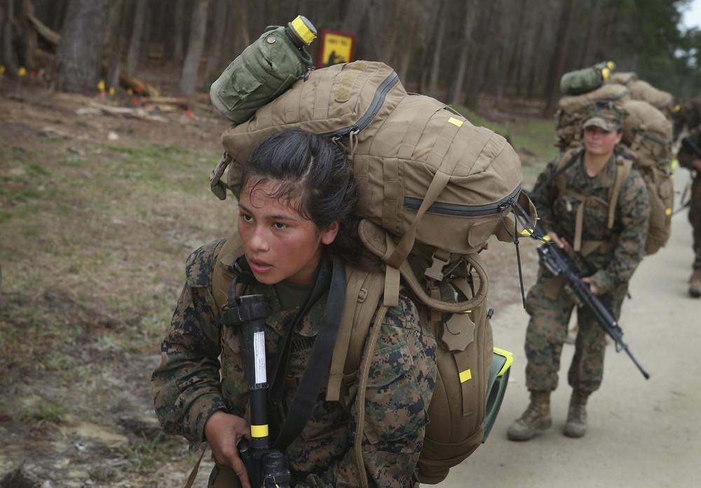 Female Marines Participate