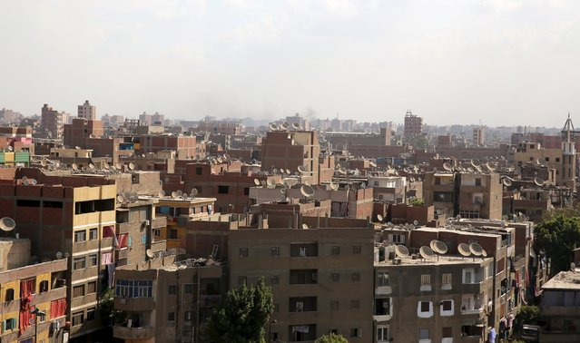 A general view of old buildings in Cairo, Egypt, October 7, 2015. When Abu Dhabi-run contractor Arabtec signed a deal with the Egyptian government for a high-profile housing project it was seen as a sign of the Gulf Arab state's support for President Abdel Fattah al-Sisi. But the project announced in March 2014 and a pillar of Sisi's election campaign, has stalled, possibly risking his reputation and highlighting Egypt's habit of promising grandiose ventures and then struggling to deliver. (Photo by Mohamed Abd El Ghany/Reuters)