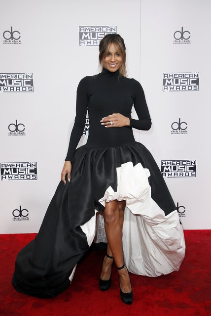 Singer Ciara arrives at the 2016 American Music Awards in Los Angeles, California, U.S., November 20, 2016. (Photo by Danny Moloshok/Reuters)