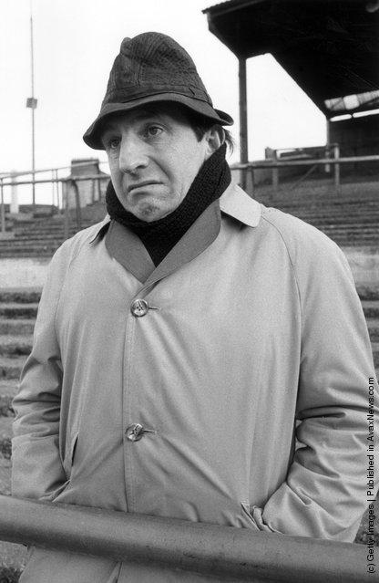 1973: British comic actor of film and television, Leonard Rossiter
