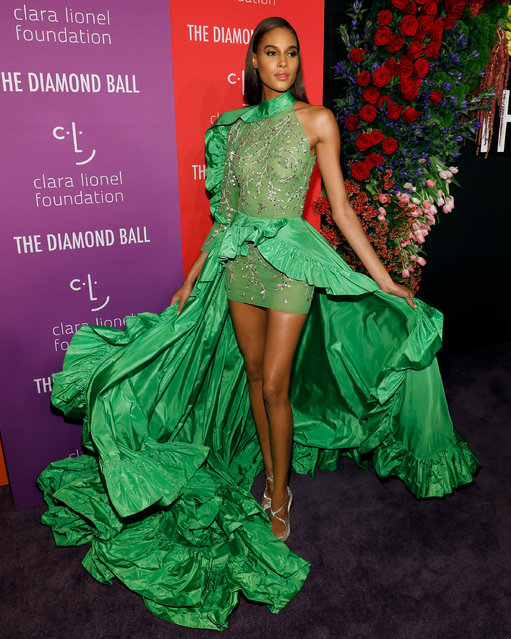 Cindy Bruna attends the 5th Annual Diamond Ball benefiting the Clara Lionel Foundation at Cipriani Wall Street on September 12, 2019 in New York City. (Photo by Taylor Hill/WireImage)