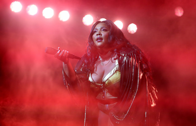 Lizzo performs at O2 Academy Brixton on November 06, 2019 in London, England. (Photo by Chiaki Nozu/WireImage)