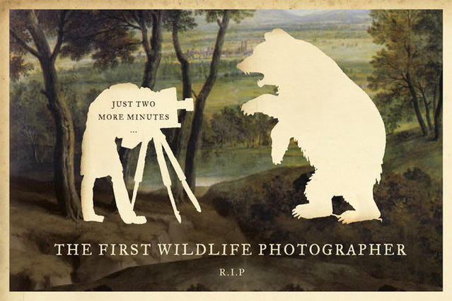 the first wildlife photographer