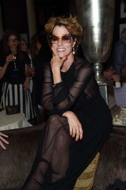 """Parker Posey attends the after party for the """"Cafe Society"""" premiere hosted by Amazon & Lionsgate with The Cinema Society at The Carlyle on July 13, 2016 in New York City. (Photo by Jamie McCarthy/Getty Images)"""