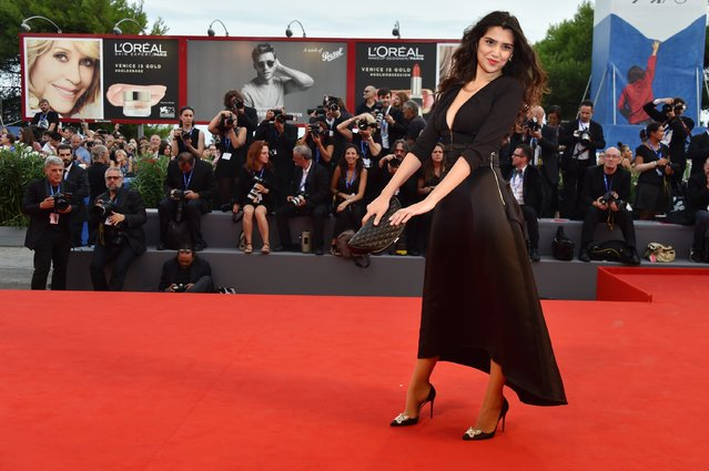 """Loredana Violeta Salanta attends the premiere of """"Hacksaw Ridge"""" during the 73rd Venice Film Festival at Sala Grande on September 4, 2016 in Venice, Italy. (Photo by Pascal Le Segretain/Getty Images)"""