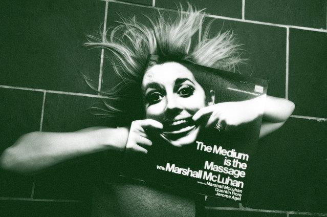 """""""Marshall McLuhan"""". (Photo by Steve Malpass)"""