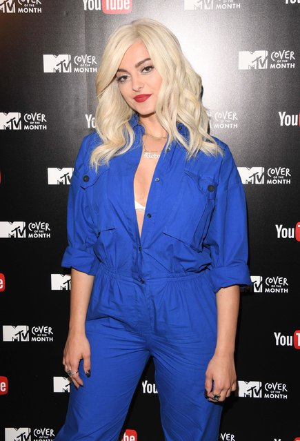 Bebe Rexha attends MTV's Cover Of The Month Party At The YouTube Space on January 31, 2017 in London, United Kingdom. (Photo by Stuart C. Wilson/Getty Images)