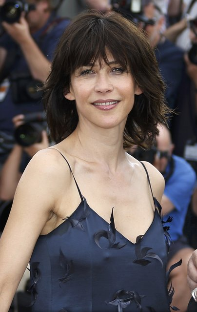 Jury member actress Sophie Marceau poses during a photocall before the opening of the 68th Cannes Film Festival in Cannes, southern France, May 13, 2015. (Photo by Eric Gaillard/Reuters)