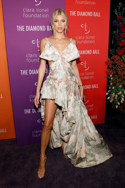 Devon Windsor attends the 5th Annual Diamond Ball benefiting the Clara Lionel Foundation at Cipriani Wall Street on September 12, 2019 in New York City. (Photo by Taylor Hill/WireImage)