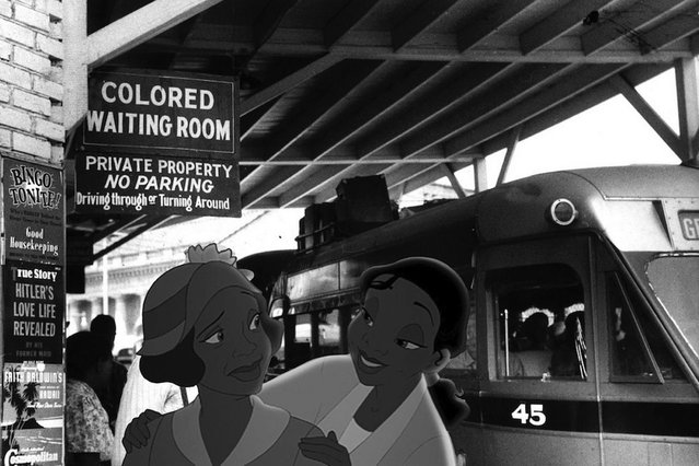 Race is an issue for Tiana from Princess and the Frog. (Photo by Jeff Hong)