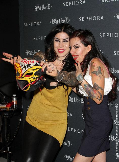 Sephora Presents Kat Von D's First Solo Art Show At Sephora Mexico City