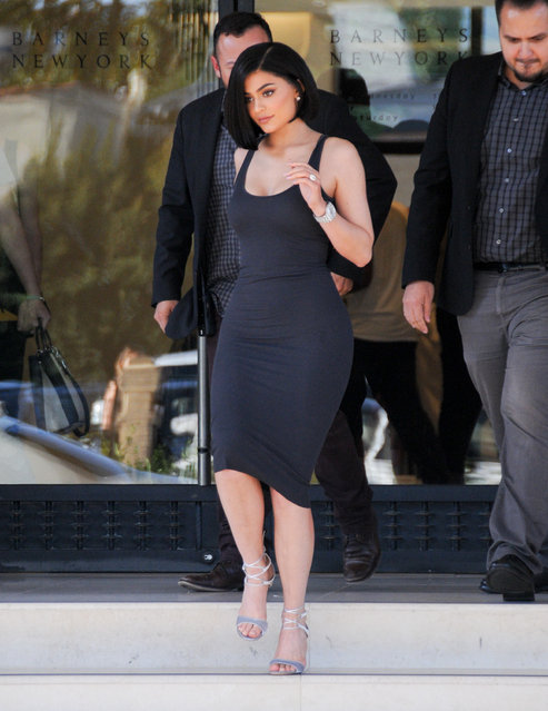 Kylie Jenner is seen on July 14, 2016 in Los Angeles, California. (Photo by BG002/Bauer-Griffin/GC Images)