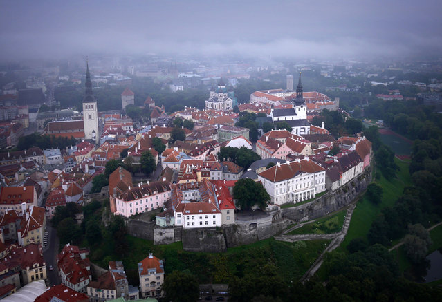 "The ""Toompea"" in Tallin's old town, Estonia. (Photo by Amos Chapple/Rex Features)"
