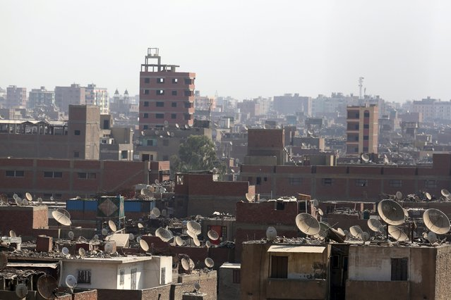 A general view of old buildings in Cairo, Egypt, October 7, 2015. (Photo by Mohamed Abd El Ghany/Reuters)