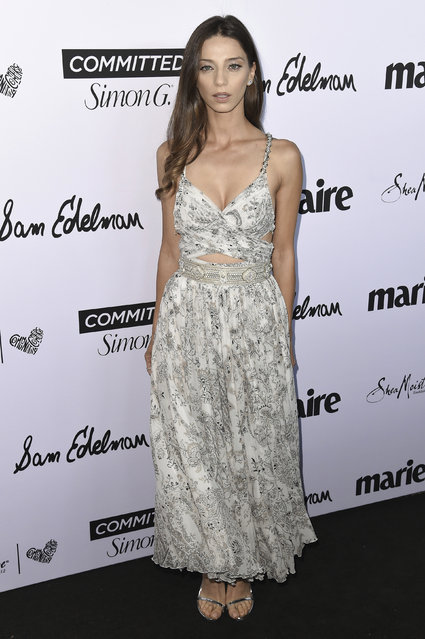 Angela Sarafyan attends the 2018 Marie Claire's Fresh Faces Party at Poppy on Friday, April 27, 2018, in West Hollywood, Calif. (Photo by Richard Shotwell/Invision/AP Photo)
