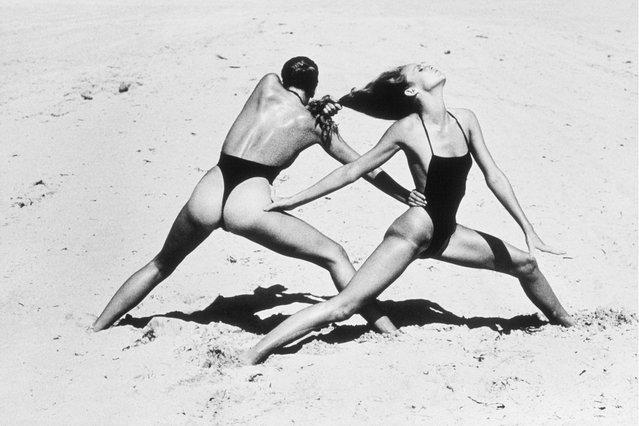 Beach Exercise. (Photo by Helmut Newton)