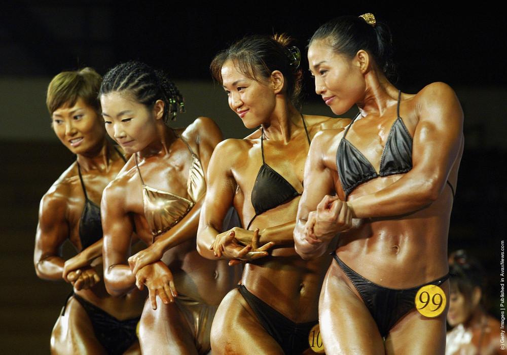 Korean Beauty: Female Bodybuilding