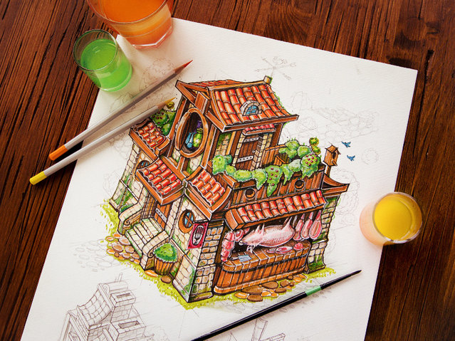 Awesome illustrations By Creative Mints
