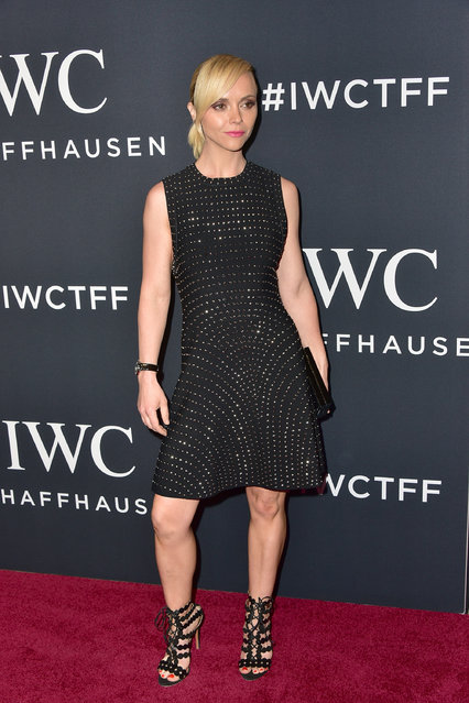 "Actress Christina Ricci attends the 5th Annual IWC Schaffhausen Tribeca Film Festival ""For The Love Of Cinema"" Gala at Spring Studios on April 20, 2017 in New York City. (Photo by Brian Killian/WireImage)"