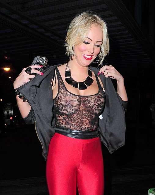 s*xy Aisleyne Horgan Wallace Attends the Lipsy London Love Launch Party