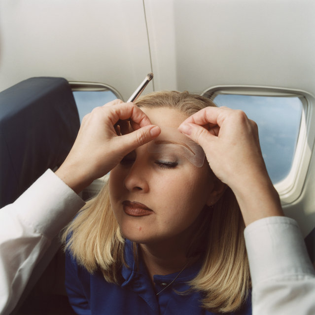 Christy, Southwest Airlines, 2004. (Photo by Brian Finke/The Washington Post)