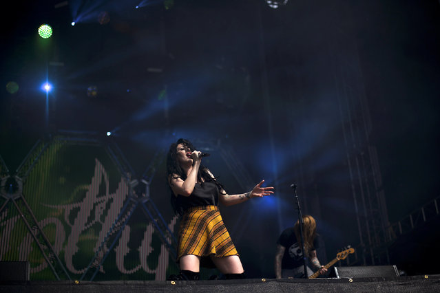 DOROTHY performs during the fifth annual Made in America Music Festival in Philadelphia, Pennsylvania September 3, 2016. (Photo by Mark Makela/Reuters)