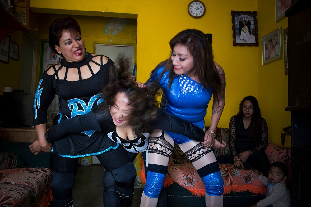 Female Pro Wrestlers of Mexico