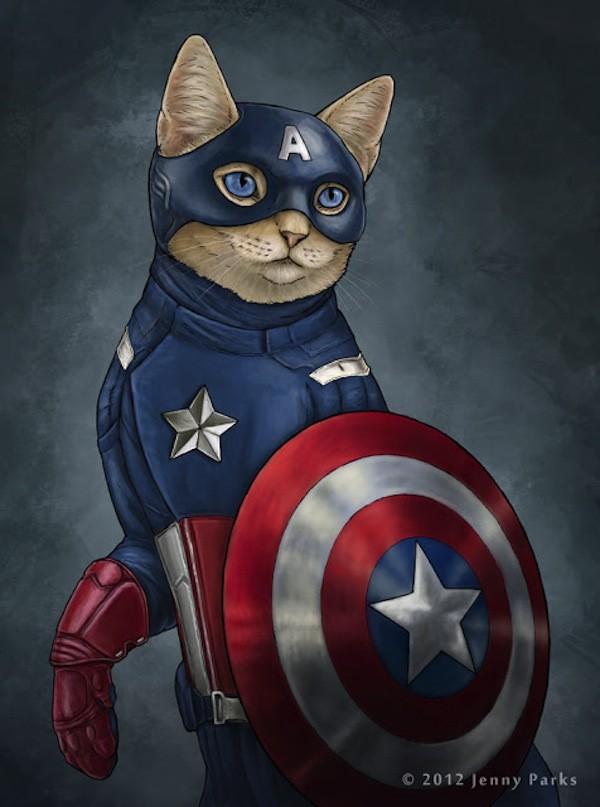 Super Cats by Jenny Parks