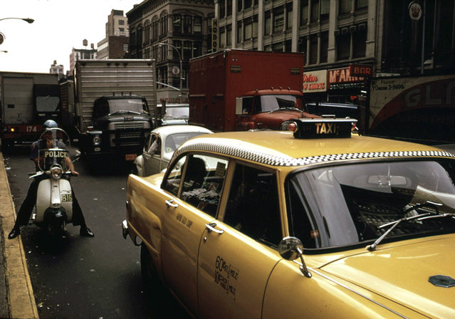 6th Avenue and 32nd Street, New York City, April 1973. (Photo by Dan McCoy/NARA via The Atlantic)