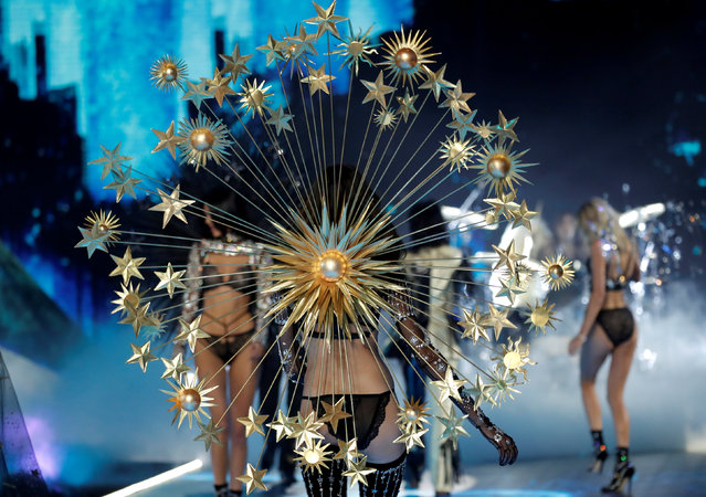 Models present creations during the 2018 Victoria's Secret Fashion Show in New York City, New York, U.S., November 8, 2018. (Photo by Mike Segar/Reuters)