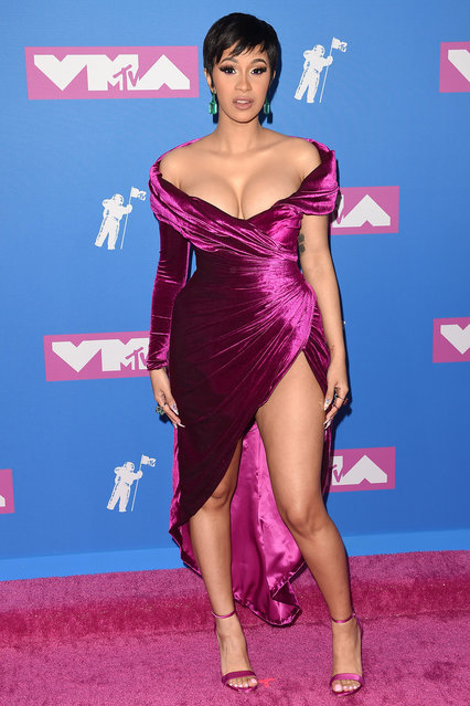 Cardi B attends the 2018 MTV Video Music Awards at Radio City Music Hall on August 20, 2018 in New York City. (Photo by Axelle/Bauer-Griffin/FilmMagic)