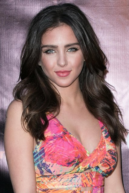 """Ryan Newman arrives at the LA Premiere of """"Where Hope Grows"""" held at Arclight Cinemas Hollywood on Monday, May 4, 2015 in Los Angeles. (Photo by John Salangsang/Invision/AP Photo)"""