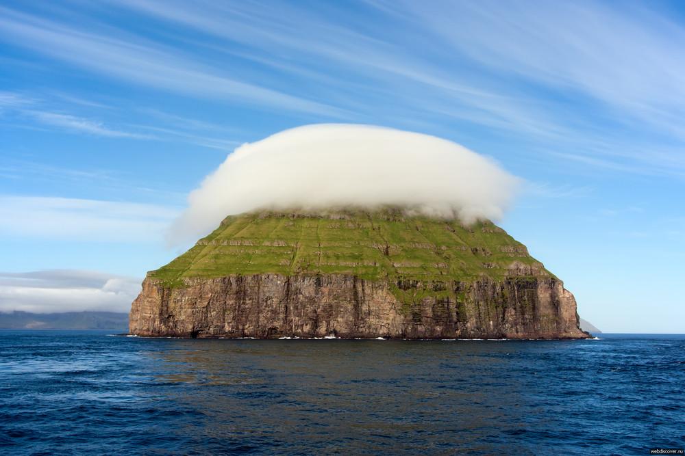 The Cloud Covered Island of Litla Dimun
