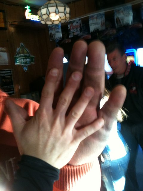 Jeff Dabe Owner Of The Giant Hand