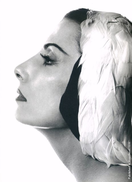 Russian ballerina Tamara Toumanova, 1956. Photo by Philippe Halsman
