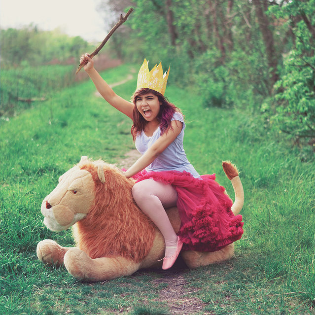 Queen of the Jungle (365 project). (Glenda Lissette)
