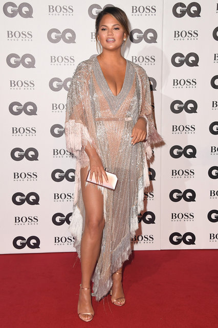 Chrissy Teigen attends the GQ Men of the Year awards at the Tate Modern on September 5, 2018 in London, England. (Photo by Stuart C. Wilson/Getty Images)