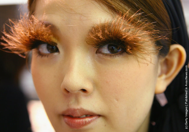 Designer False Eyelashes Remain Popular Japanese Fashion Accessory