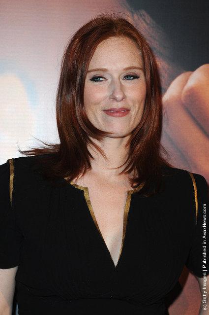 Audrey Fleurot attends 'La Delicatesse' Paris Premiere