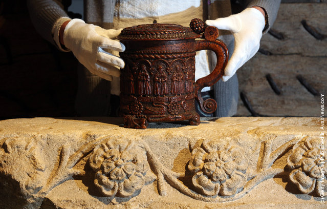 The Glastonbury Grace Cup Is Returned To Glastonbury Abbey After 125 Years