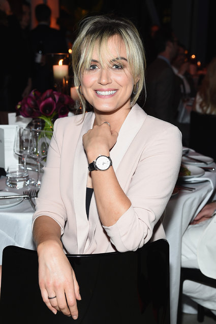 Actress Taylor Schilling attends the exclusive gala event 'For the Love of Cinema' during the Tribeca Film Festival hosted by luxury watch manufacturer IWC Schaffhausen on April 20, 2017 in New York City. (Photo by Jamie McCarthy/Getty Images for IWC)