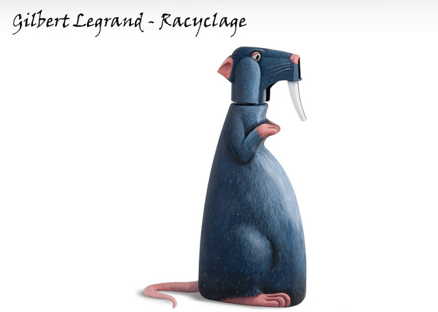 Everyday Objects Into Cute Characters By Gilbert Legrand Part 1