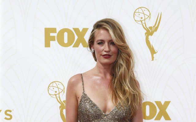 Televison personality Kat Deeley arrives at the 67th Primetime Emmy Awards in Los Angeles, California September 20, 2015. (Photo by Mario Anzuoni/Reuters)