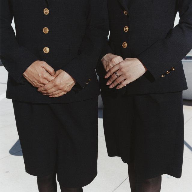 Kikuchi and Imada, Japan Airlines, 2006. (Photo by Brian Finke/The Washington Post)