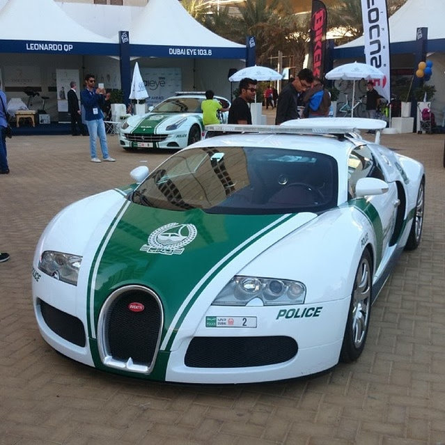 The Bugatti Veyron Of The Dubai Police
