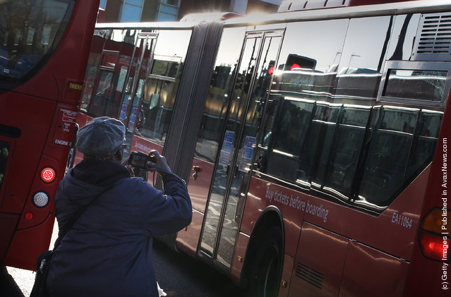 The Last Of London's 'Bendy' Buses Leave Service On The Capital's Streets
