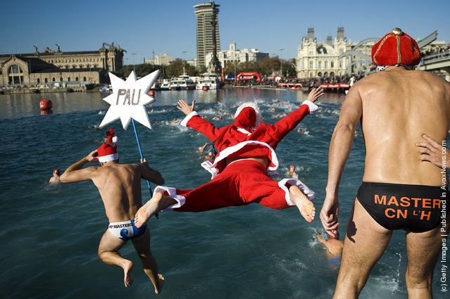 Barcelona's Traditional Christmas Swimming Cup